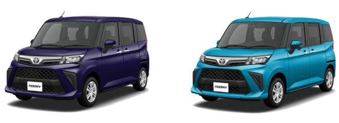 トヨタ新型ルーミーお好みのボディーカラーはある?お勧めの色と内装色